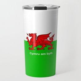 Cymru am byth (Wales For Ever) Travel Mug