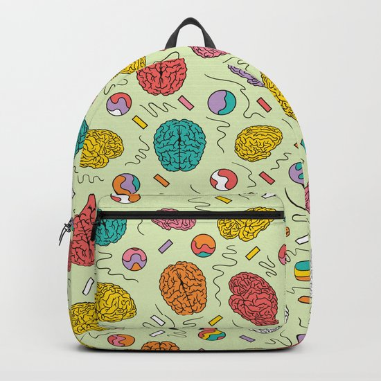 Brain pattern Backpack