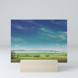 Big Country Mini Art Print