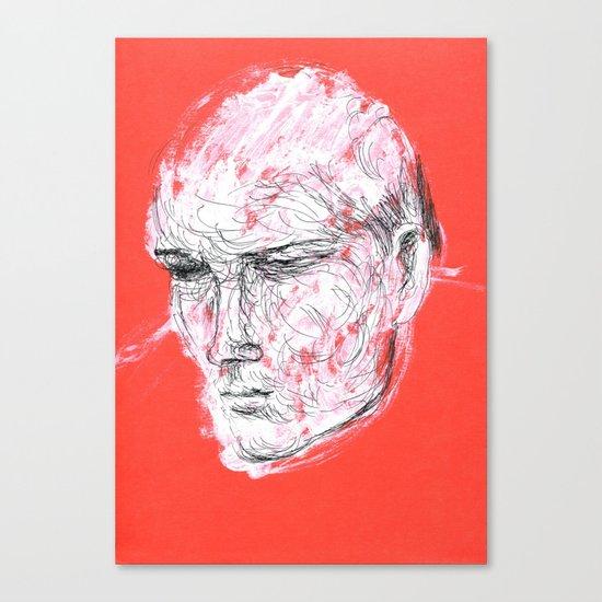 Dmitriy's head Canvas Print