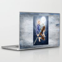 jack frost Laptop & iPad Skins featuring Jack Frost by SpaceMonolith