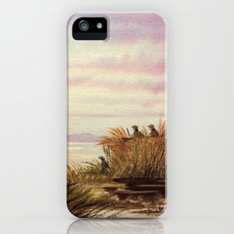 Duck Hunting Companions iPhone Case