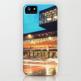 Motion at the Library iPhone Case