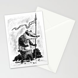 """Badger guard - """"Print of the week"""" #11 Stationery Cards"""