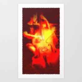 Ucello's Riff Art Print