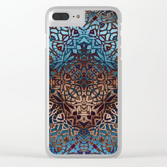 Ethnic Tribal Pattern G329 Clear iPhone Case