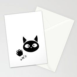 #x°?! Cat Stationery Cards