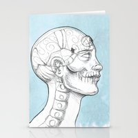 grid Stationery Cards featuring Grid by isberg illustration