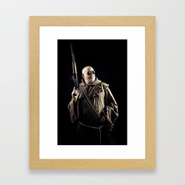 Soldier of God Framed Art Print
