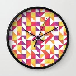Tri Kolor Wall Clock