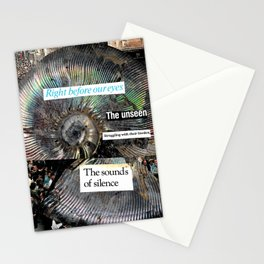 Right Before Our Eyes Stationery Cards