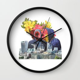 Urban Beauty Wall Clock