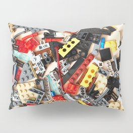 Details of construction toys Pillow Sham