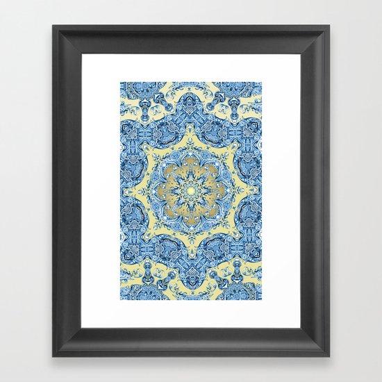 Turkish Mandala Framed Art Print