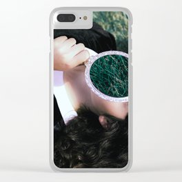 where is my mind Clear iPhone Case