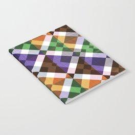 Retro Box Mosaic Small Notebook