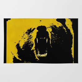 "TygerB.com ""Heated Grizzle"" Painting Rug"