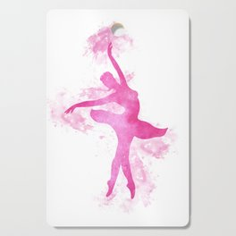 Ballerina watercolor Cutting Board