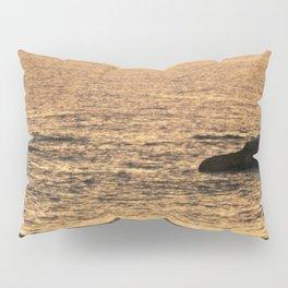 Golden Hour on the Sea Pillow Sham