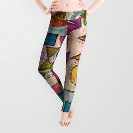 Spring shapes Leggings
