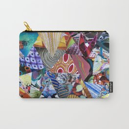 Collage - Triangulation Carry-All Pouch