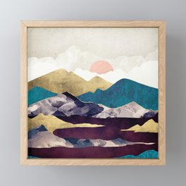 Wine Lake Framed Mini Art Print