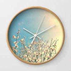 Bloom Pink Wall Clock
