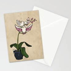 THE RARE SONGBIRD ORCHID Stationery Cards