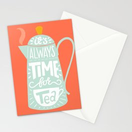 Tea quote Stationery Cards