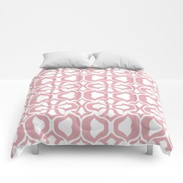 Pink Tulize Comforters