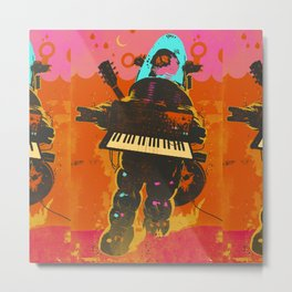 ROBOT SYNTH Metal Print