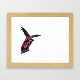 Red Welsh Dragon Framed Art Print