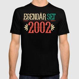 18th birthday 2002 Legendary Legend Gift T-shirt
