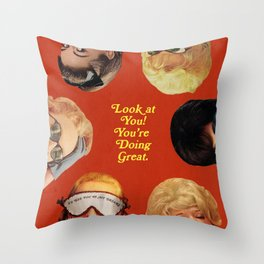 Look at You! Throw Pillow