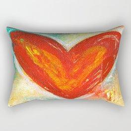 Deep in Love Rectangular Pillow