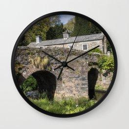 English Village II Wall Clock