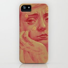 happyness iPhone Case