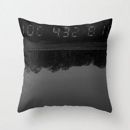Digital Drip Throw Pillow