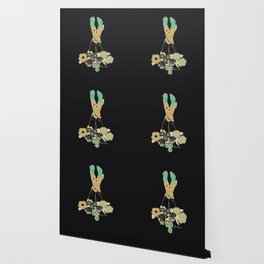 Love Stoned Cowboy Boots - Emerald, Cream, Black Wallpaper