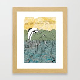 Whats happening to our dolphins? Framed Art Print