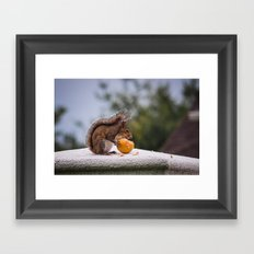 Fruit Thief Framed Art Print