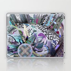 Manchester whirl Laptop & iPad Skin