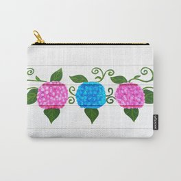 Handpainted hydrangeas Carry-All Pouch