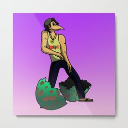 The Num Nums - Randy Just Has To Dance Metal Print