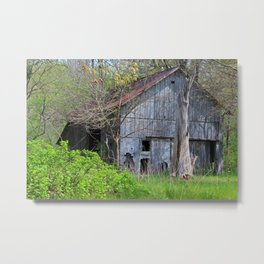Unsettling Transitions Metal Print