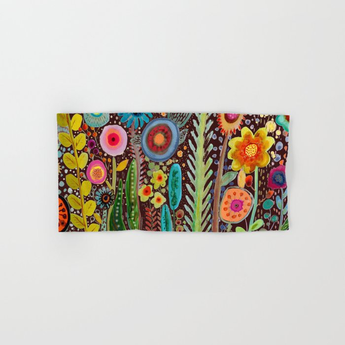 jardinage Hand & Bath Towel