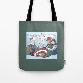 Superheroic Seasons Greetings (Chestnuts Roasting) Tote Bag