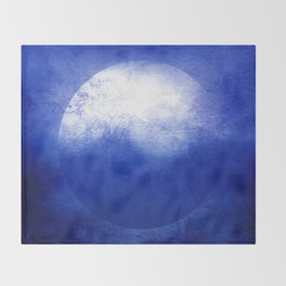 Circle Composition V Throw Blanket