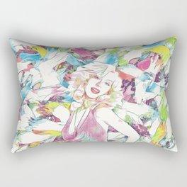 Christina Aguilera - Celebrity Art (Illustration) Rectangular Pillow
