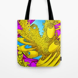 AUTOMATIC WORM 2 Tote Bag